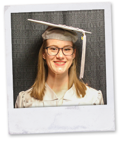 Grace Browning, ACTC Student & Holy Family Collegiate High School Graduate