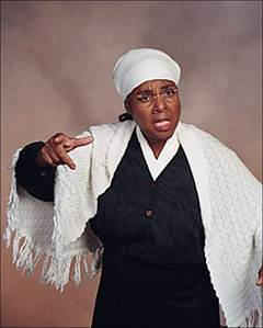Dr. Annette E. Jefferson, dresses as Harriet Tubman, presents the life and times of Harriet Tubman.